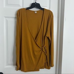 OLD NAVY Plus size Wrap Top
